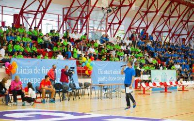 1.000 de Copii Vulnerabili Au Descoperit Performanța în Sport Alături de 500 de Voluntari Genpact și Personalități Din Lumea Sportului