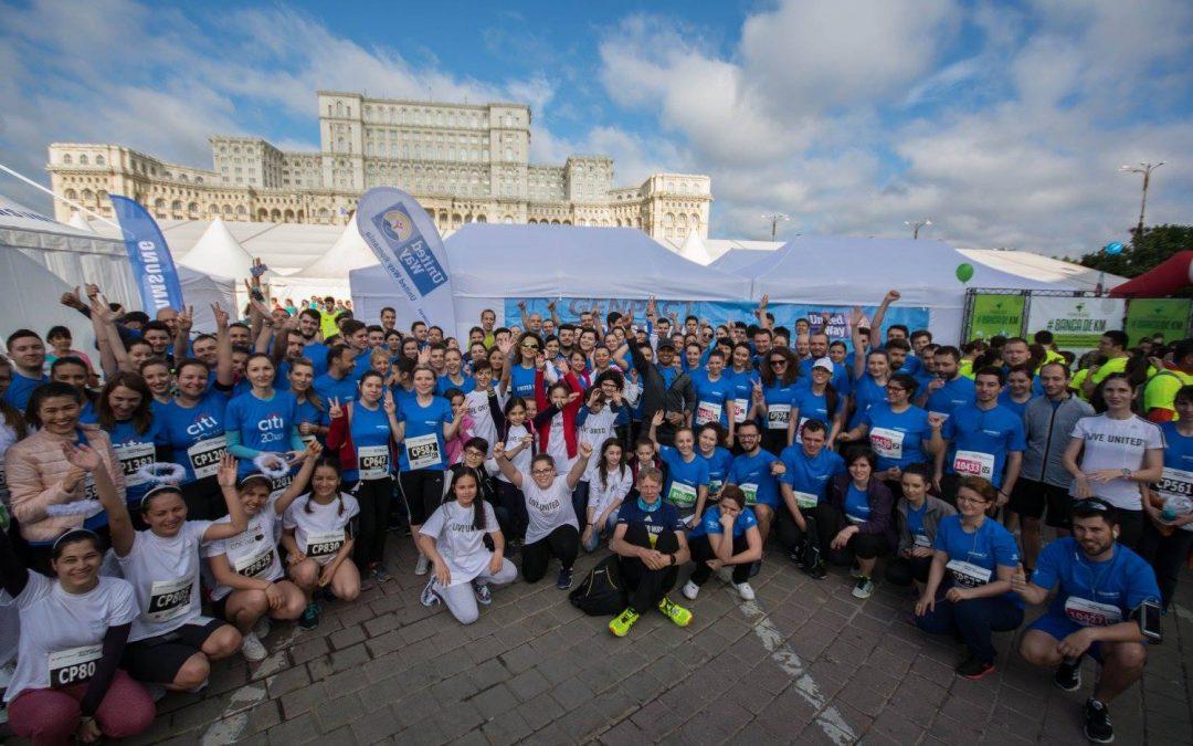 Educația în Sănătate a Copiilor Dezavantajați, Susținută de United Way România la Semimaratonul Internațional București 2016
