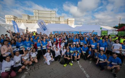 Over 550 runners supported health education of disadvantaged children at Bucharest Marathon and Half Marathon in 2016