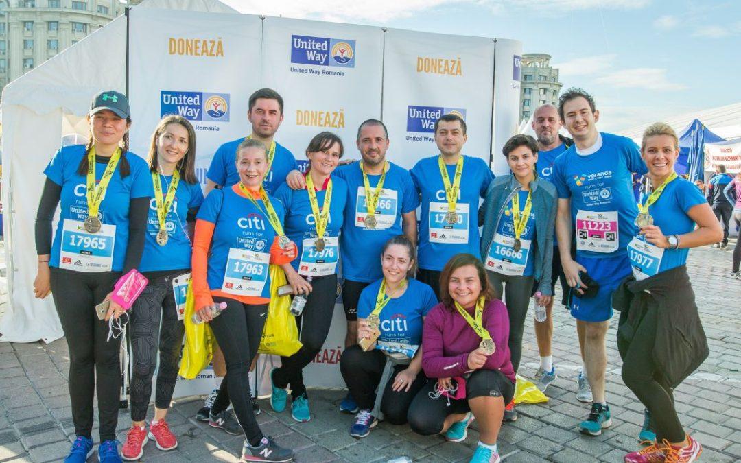 Maratonul București 2017: am alergat pentru tinerii vulnerabili