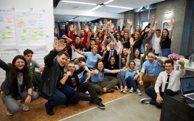 Liceenii din proiectul YEEI și-au lansat ideile de proiecte!