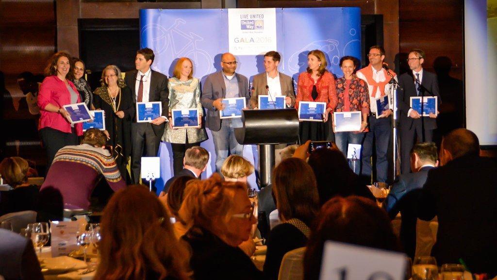 Gala United Way 2016 a Premiat peste 80 de Organizații și Oameni care Schimbă Comunitatea în mai Bine