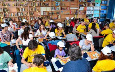 United Way Broke the Record at the Biggest Scrabble Game in Romania