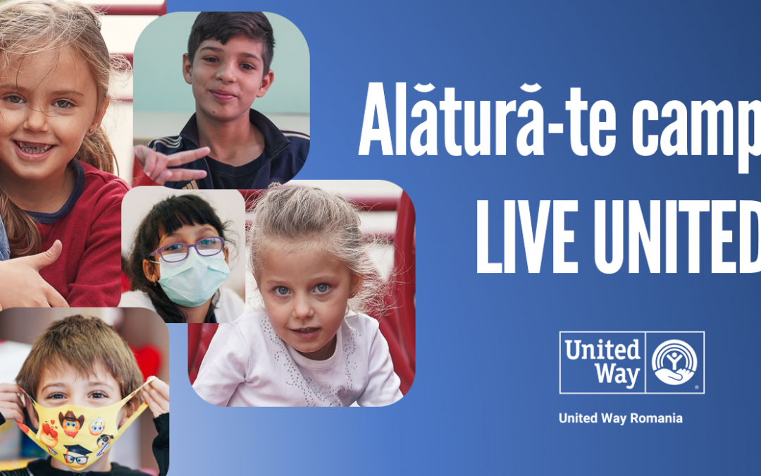 Join the LIVE UNITED campaign to support education
