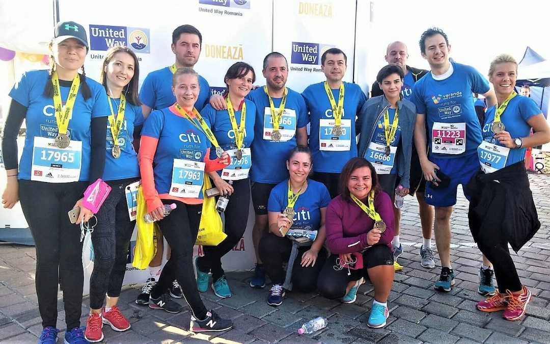 Susține cauza United Way România la Bucharest International Marathon 2019!