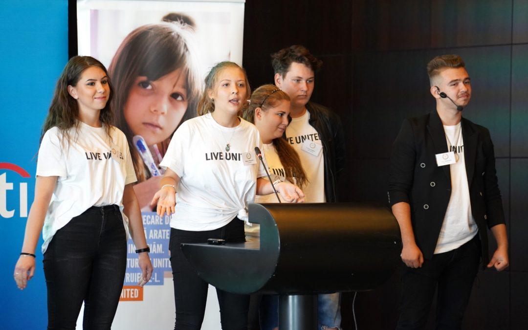 United Way și Citi au implementat un program pilot de antreprenoriat pentru tinerii defavorizați din licee