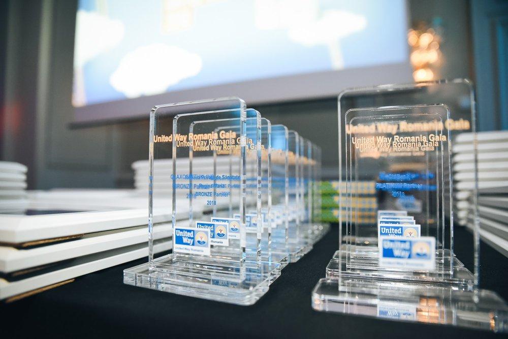 Gala United Way 2018 – am premiat organizații, companii, donatori și voluntari care oferă VIITOR