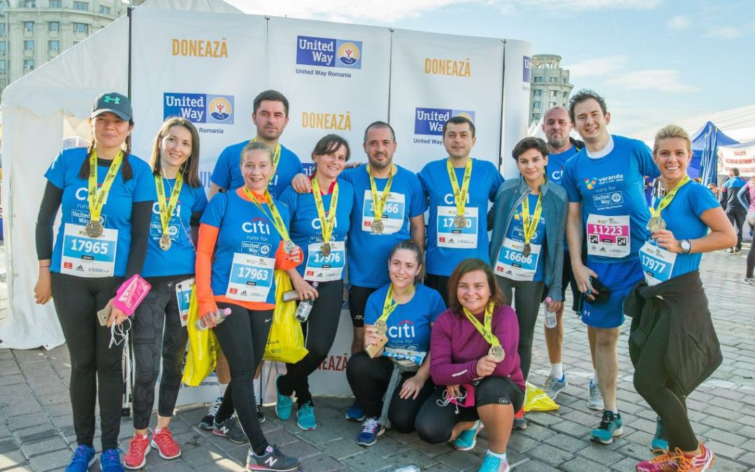 Bucharest Marathon 2017: we ran for underprivileged youth